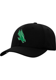 North Texas Mean Green Top of the World Phenom 1-Fit Flex Hat - Black