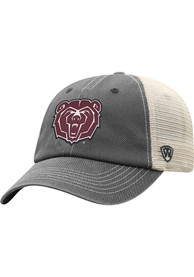 Missouri State Bears Top of the World Wickler Meshback Adjustable Hat - Charcoal