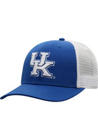 Kentucky Wildcats Top of the World BB Meshback Adjustable Hat - Blue