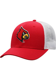 Top of the World Louisville Cardinals BB Meshback Adjustable Hat - Red