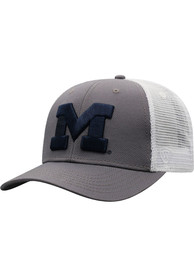 Michigan Wolverines Top of the World BB Meshback Adjustable Hat - Navy Blue