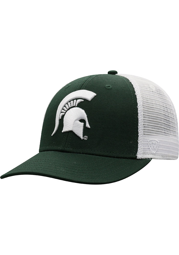 Top of the World Michigan State Spartans BB Meshback Adjustable Hat - Green - Image 1