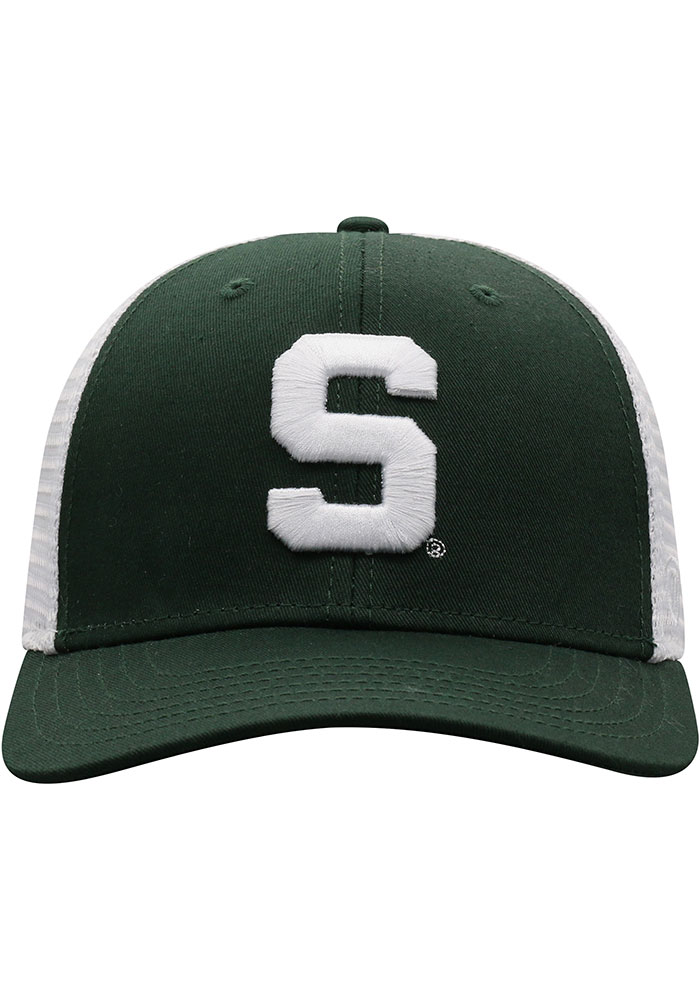 Top of the World Michigan State Spartans BB Meshback Adjustable Hat - Green - Image 3