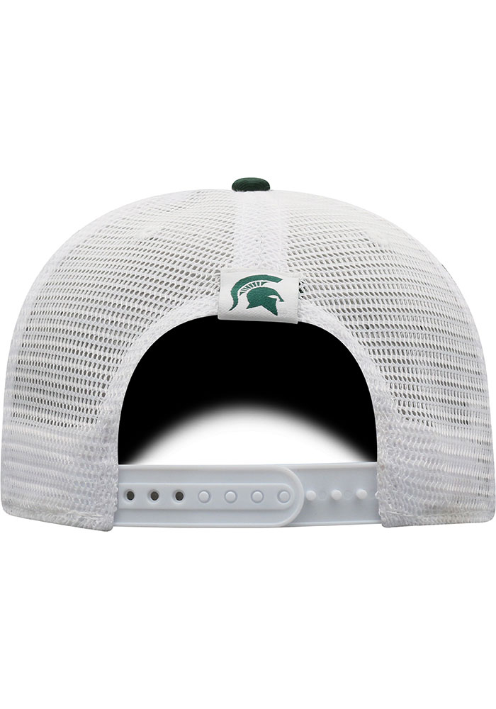Top of the World Michigan State Spartans BB Meshback Adjustable Hat - Green - Image 4
