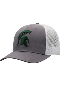 Michigan State Spartans Top of the World BB Meshback Adjustable Hat - Green