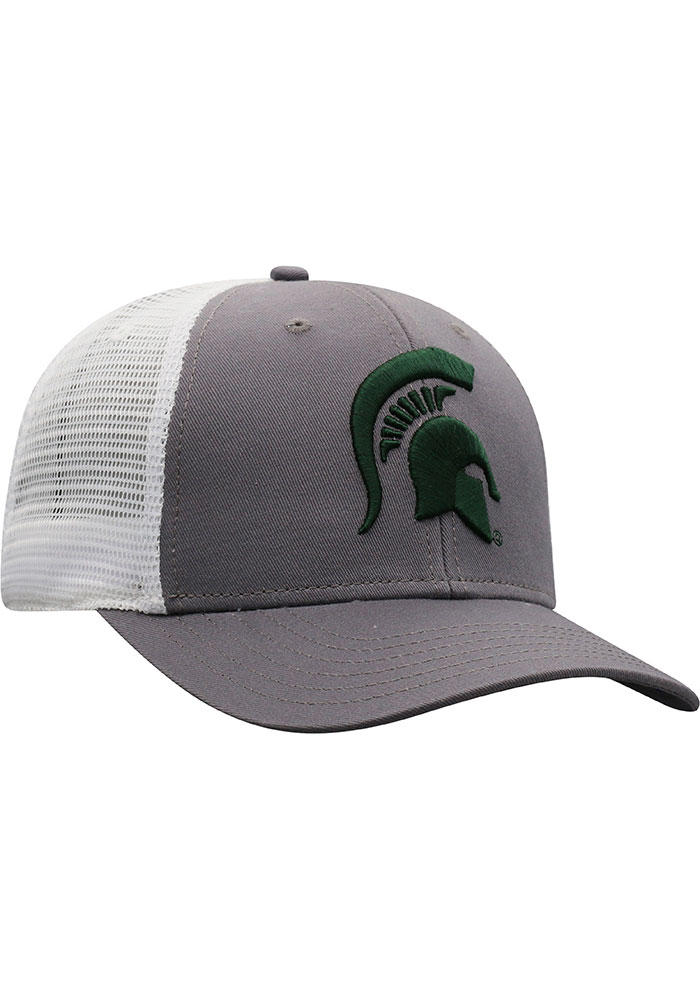 Top of the World Michigan State Spartans BB Meshback Adjustable Hat - Green - Image 2