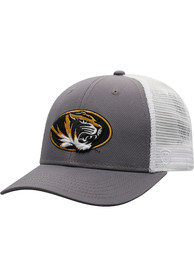 Missouri Tigers Top of the World BB Meshback Adjustable Hat - Black