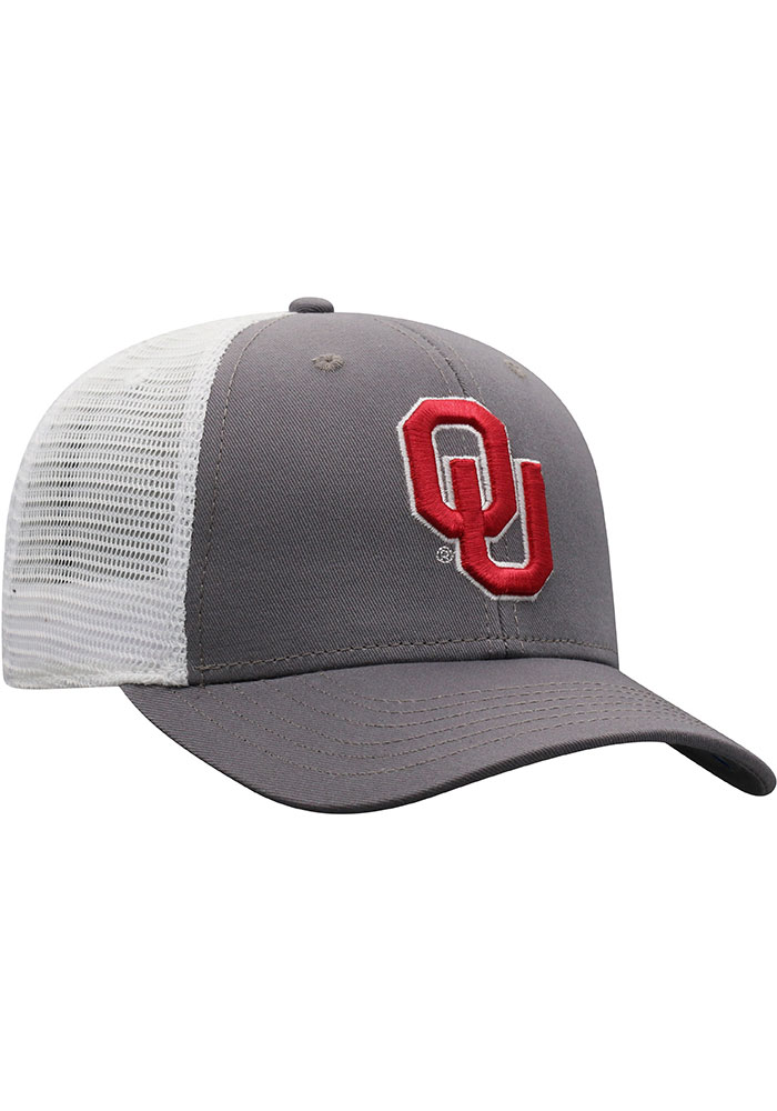 Top of the World Oklahoma Sooners BB Meshback Adjustable Hat - Crimson - Image 2