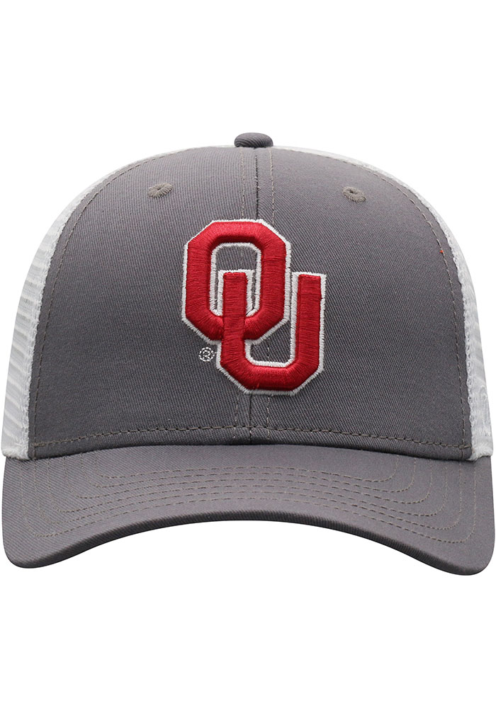 Top of the World Oklahoma Sooners BB Meshback Adjustable Hat - Crimson - Image 3