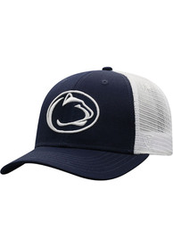 Penn State Nittany Lions Top of the World BB Meshback Adjustable Hat - Navy Blue