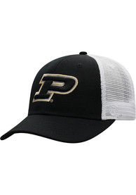 Top of the World Purdue Boilermakers BB Meshback Adjustable Hat - Black