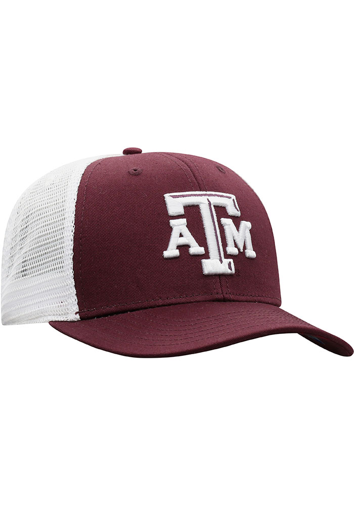 Top of the World Texas A&M Aggies BB Meshback Adjustable Hat - Maroon - Image 2