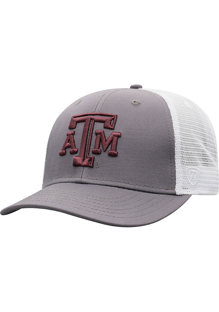 Top of the World Texas A&M Aggies BB Meshback Adjustable Hat - Maroon - Image 1