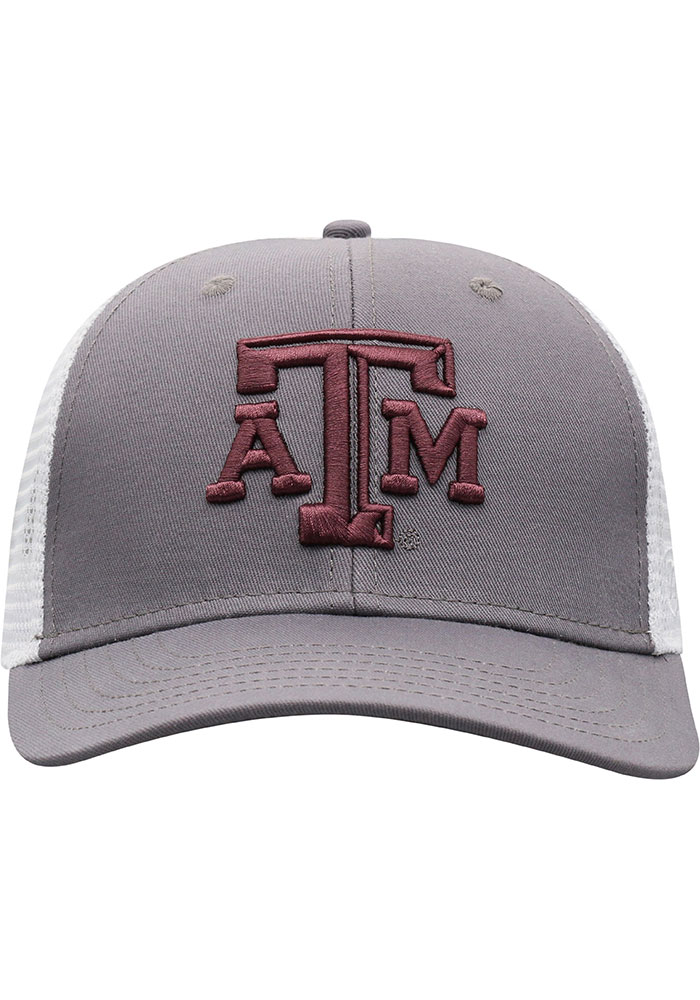 Top of the World Texas A&M Aggies BB Meshback Adjustable Hat - Maroon - Image 3