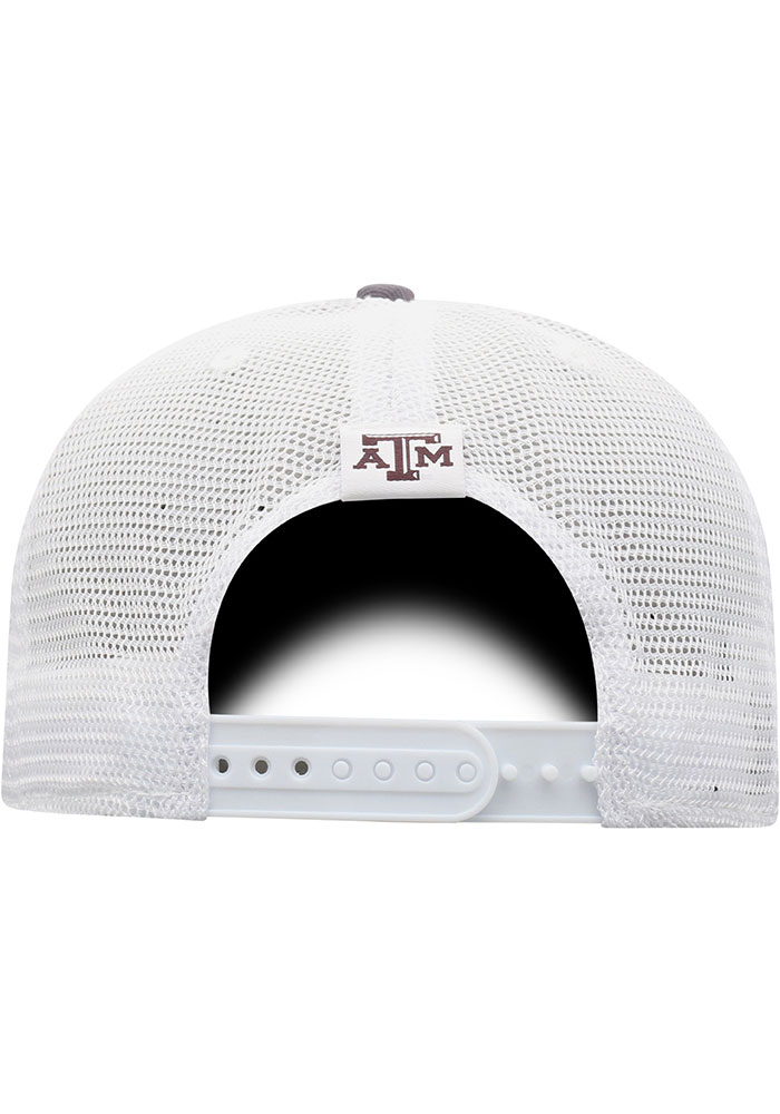Top of the World Texas A&M Aggies BB Meshback Adjustable Hat - Maroon - Image 4
