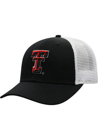 Texas Tech Red Raiders Top of the World BB Meshback Adjustable Hat - Black