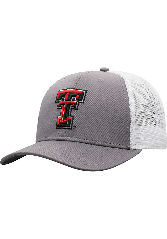 Top of the World Texas Tech Red Raiders BB Meshback Adjustable Hat - Black - Image 1