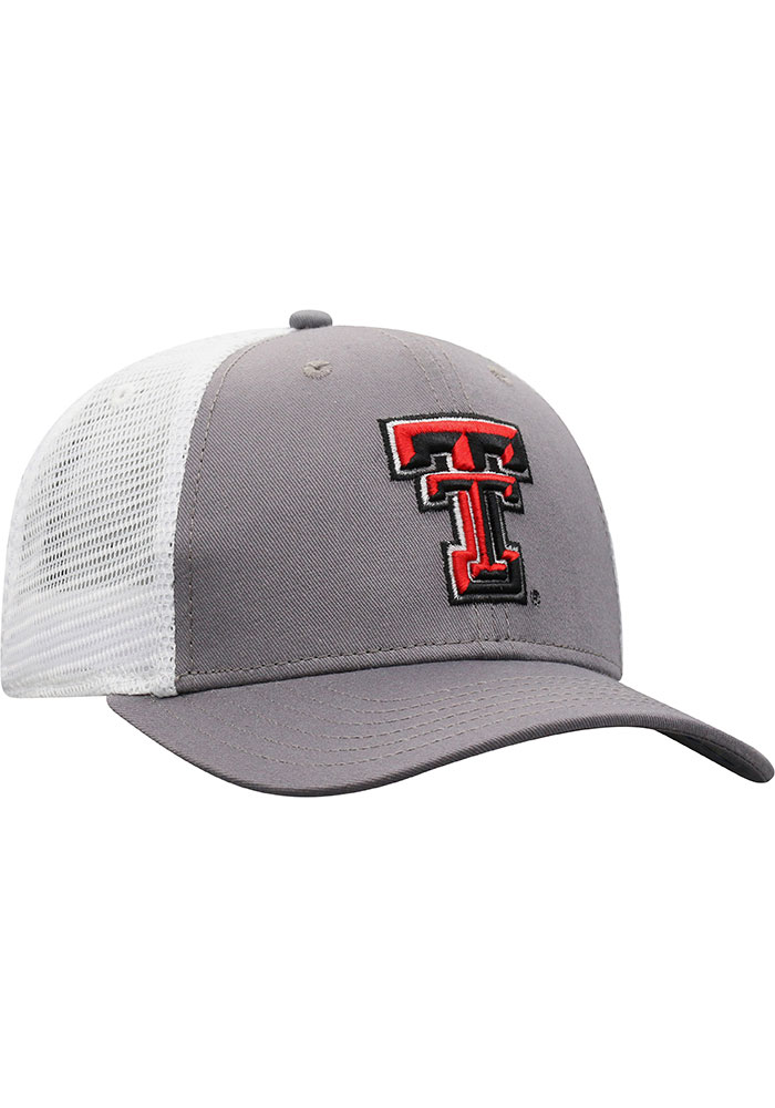 Top of the World Texas Tech Red Raiders BB Meshback Adjustable Hat - Black - Image 2