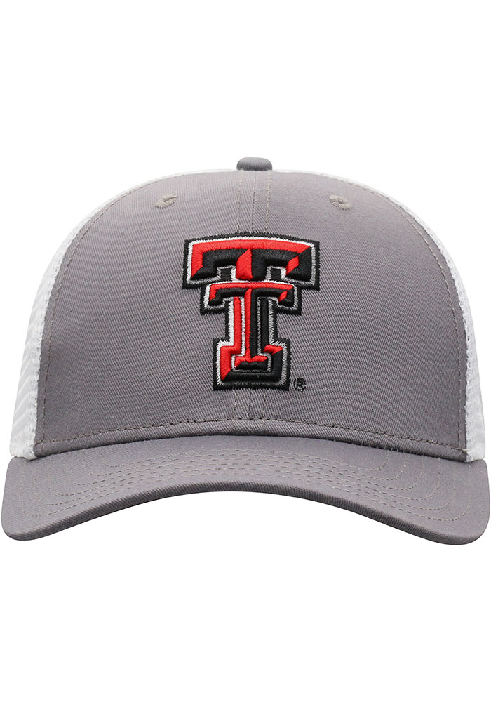 Top of the World Texas Tech Red Raiders BB Meshback Adjustable Hat - Black - Image 3