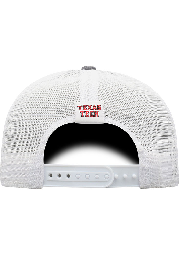 Top of the World Texas Tech Red Raiders BB Meshback Adjustable Hat - Black - Image 4