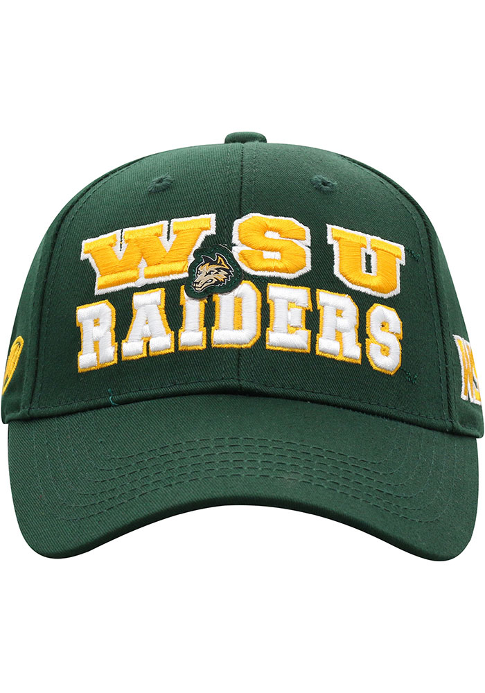 Top of the World Wright State Raiders Tomahawk Adjustable Hat - Green - Image 3