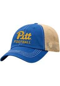 Pitt Panthers Top of the World Football Meshback Adjustable Hat - Blue