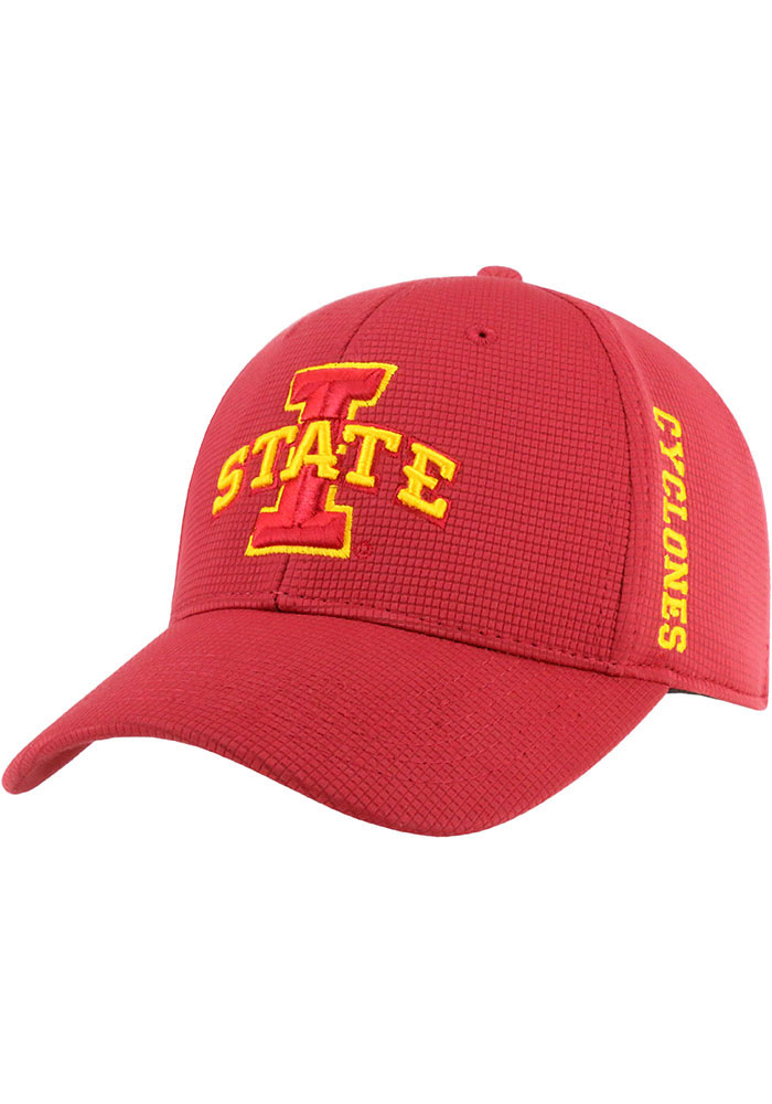 Iowa State Cyclones Top of the World Booster One-Fit Flex Hat - Red
