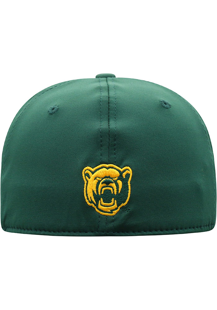 Top of the World Baylor Bears Mens Green Phenom One-Fit Flex Hat - Image 4
