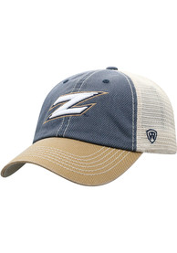 Akron Zips Top of the World Offroad Meshback Adjustable Hat - Navy Blue