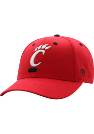 Cincinnati Bearcats Top of the World Triple Threat Adjustable Hat - Red