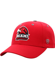 Miami RedHawks Top of the World Triple Threat Adjustable Hat - Red