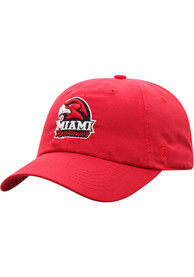 Miami RedHawks Top of the World Staple Adjustable Hat - Red