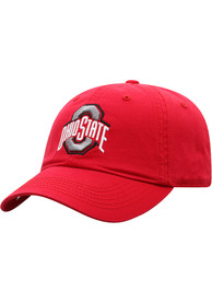 Ohio State Buckeyes Top of the World Crew Adjustable Hat - Red