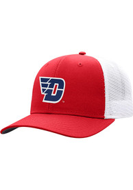 Dayton Flyers Top of the World BB Meshback Adjustable Hat - Red