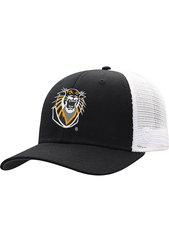 Top of the World Fort Hays State Tigers BB Meshback Adjustable Hat - Black - Image 1
