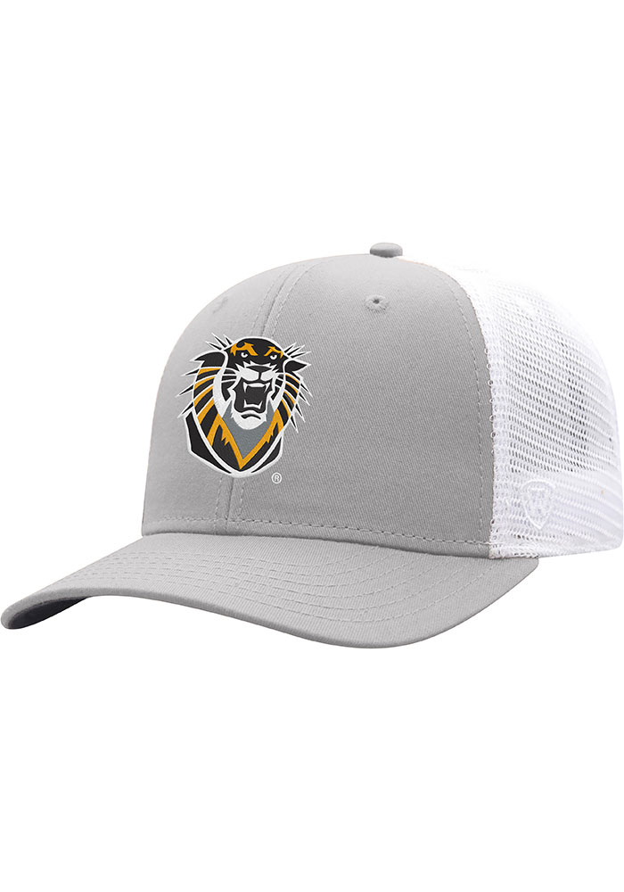 Top of the World Fort Hays State Tigers BB Meshback Adjustable Hat - Grey - Image 1