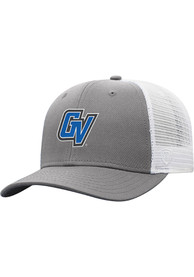 Grand Valley State Lakers Top of the World BB Meshback Adjustable Hat - Grey