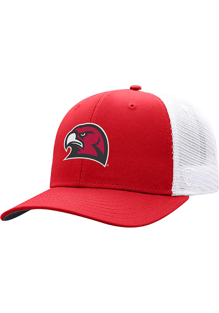 Top of the World Miami RedHawks BB Meshback Adjustable Hat - Red - Image 1