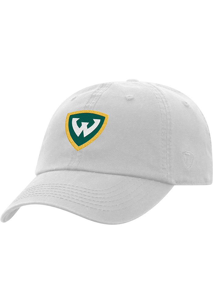 Top of the World Wayne State Warriors Crew Adjustable Hat - White - Image 1