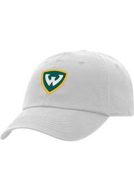 Wayne State Warriors Top of the World Crew Adjustable Hat - White