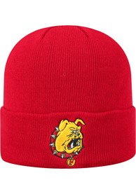 Ferris State Bulldogs Top of the World TOW Cuff Knit - Red
