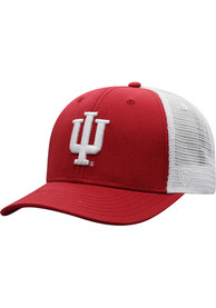 Indiana Hoosiers Top of the World BB Meshback Adjustable Hat - Crimson