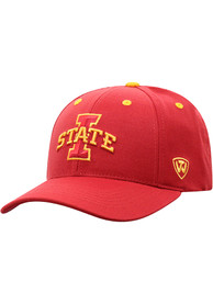Iowa State Cyclones Top of the World Triple Threat Adjustable Hat - Red