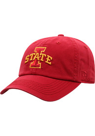 Iowa State Cyclones Top of the World Crew Adjustable Hat - Red