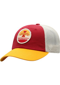 Iowa State Cyclones Top of the World Early Up Meshback Adjustable Hat - Red