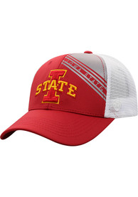 Iowa State Cyclones Top of the World Timeline Meshback Adjustable Hat - Red