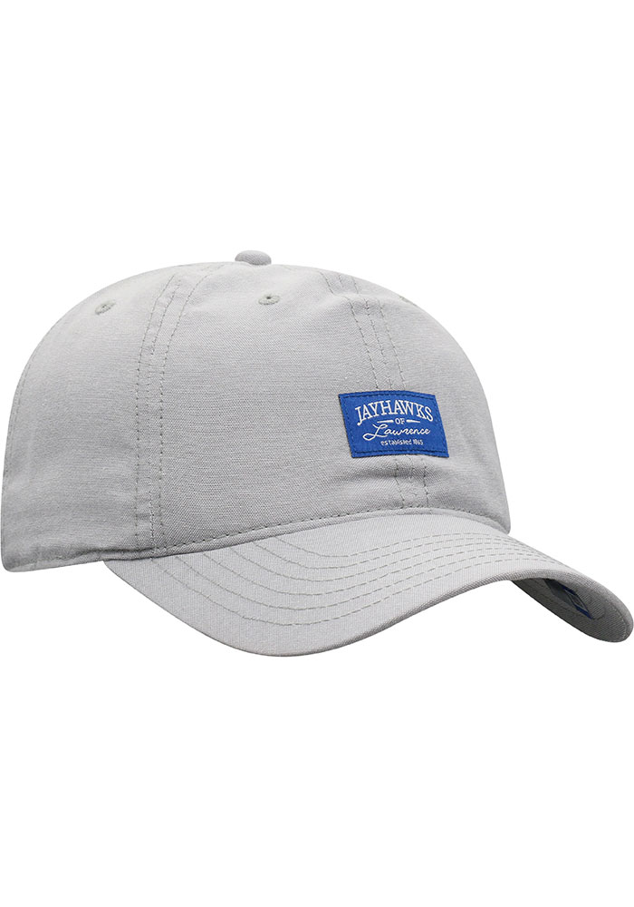 Top of the World Kansas Jayhawks Ante Adjustable Hat - Grey - Image 2