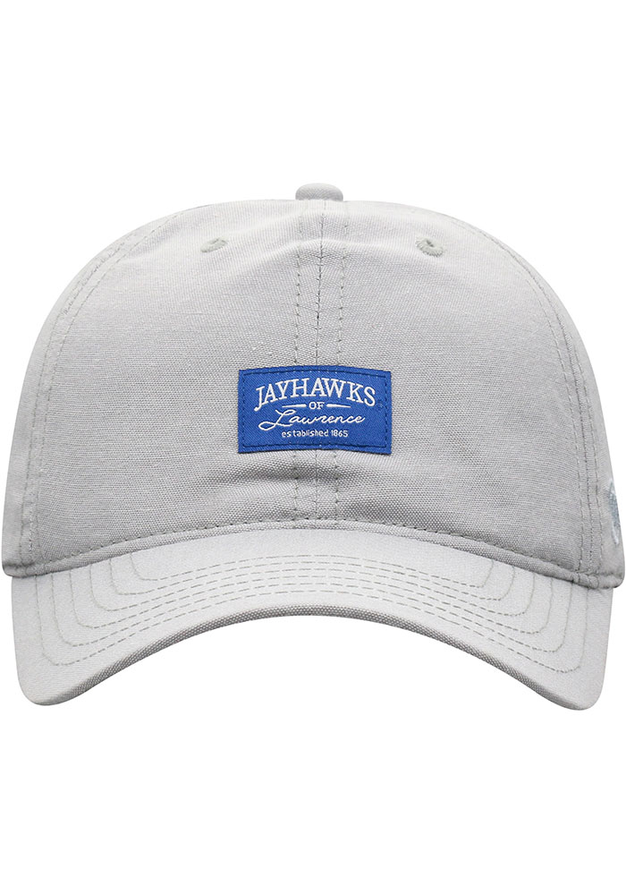 Top of the World Kansas Jayhawks Ante Adjustable Hat - Grey - Image 3