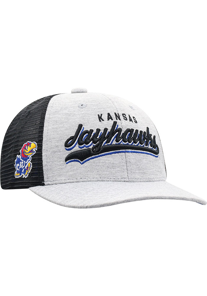 Top of the World Kansas Jayhawks Cutter Adjustable Hat - Blue - Image 2