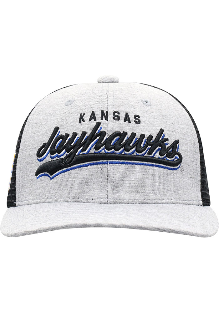 Top of the World Kansas Jayhawks Cutter Adjustable Hat - Blue - Image 3